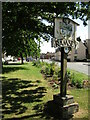 TL2885 : Ramsey - Town Sign by Colin Smith