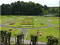 NS5467 : Formal gardens, Victoria Park by Richard Sutcliffe