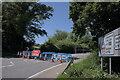 TF0719 : The A151 is closed by Bob Harvey