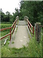 TL8838 : Footbridge over the River Stour by Geographer
