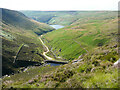 SE0304 : The valley of Greenfield Brook, Saddleworth Moor by Humphrey Bolton