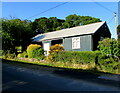 SO3506 : Village Hall, Bettws Newydd, Monmouthshire by Jaggery