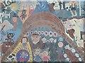 SN7266 : The Bont Mural in Pontrhydfendigaid by Philip Halling