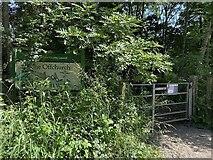 SP3665 : HS2 enabling works, Welsh Road area, June 2021 (1) by Robin Stott