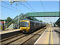 ST4687 : Severn Tunnel station looking west by Roy Hughes