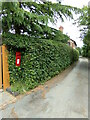 TL8637 : Clay Hill Postbox & Church Lane by Geographer