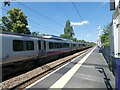 SJ8488 : Gatley Station by Gerald England