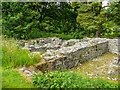 NY7204 : Ruins of Gilbertine Cell, Ravenstonedale 3 by Humphrey Bolton
