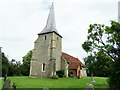 TL8637 : St. Mary's Church, Great Henny by Geographer