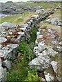 NM0449 : Tiree - Dun Mòr broch double wall by Rob Farrow
