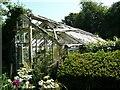 NS3673 : Rotting greenhouse by Richard Sutcliffe