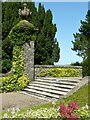 NS3673 : Steps, Finlaystone House by Richard Sutcliffe