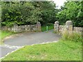 NS6368 : Entrance to Robroyston Park by Richard Sutcliffe