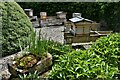 SN5118 : National Botanic Garden of Wales: The Beehive Garden by Michael Garlick