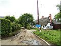 TL8738 : Stonehouse Farm Road, Henny Street by Geographer