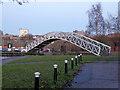 SJ8746 : Footbridge at Etruria by Chris Allen