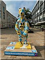 SK3586 : Bears of Sheffield: #28 Be Nice & Be Together by Graham Hogg