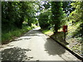 TL8739 : Rectory Road & Rectory Road Postbox by Geographer