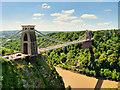 ST5673 : River Avon, The Clifton Suspension Bridge by David Dixon