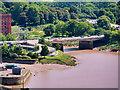 ST5672 : River Avon, Avon Bridge by David Dixon