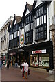 TM1644 : Ipswich: Tavern Street and northern entrance to The Walk by Christopher Hilton