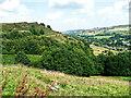 SE0513 : View from Marsden Lane near Slaithwaite Hall, Slaithwaite by Humphrey Bolton
