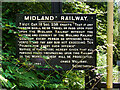 ST6771 : Old Midland Railway Sign at Oldland Common Station by David Dixon