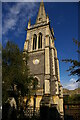 TM1644 : Ipswich: tower and spire of St Mary-le-Tower by Christopher Hilton