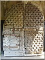 ST5394 : Chepstow Castle Doors by Philip Halling