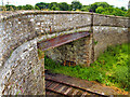 SE1290 : Bridge over the Wensleydale Railway at Harmby by David Dixon