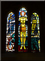 SE1388 : Stained Glass Window, The Church of St Michael and All Angels by David Dixon
