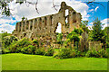 SE1785 : Jervaulx Abbey Ruins by David Dixon