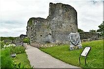 SN1943 : Cilgerran Castle by Michael Garlick