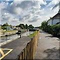 TQ1068 : Sunbury Lock by Alex McGregor