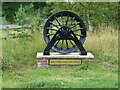 SE3617 : Small winding wheel in Walton Colliery Nature Park by Graham Hogg