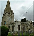 SK8723 : St John the Baptist's Church by Phil Richards