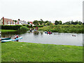 TL9634 : River Stour at Nags Corner by Geographer