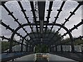 SP3078 : Footbridge at Canley station by David Lally