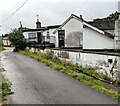 SO4200 : East side of the former Bridge Restaurant, Llangwm, Monmouthshire by Jaggery