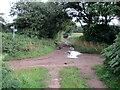 SJ5766 : Byway crossroads by John H Darch