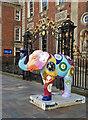 SO8554 : Worcester's Big Parade - Porcelain Elephant by Chris Allen
