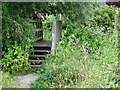 SO8693 : Footbridge Scene by Gordon Griffiths