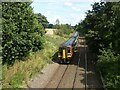SK4939 : Train to Nottingham and Norwich by Alan Murray-Rust