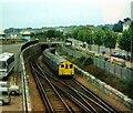 SZ5992 : Train approaching Ryde Pier – 1978 by Alan Murray-Rust