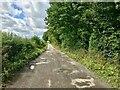 NY0880 : Lochmaben Castle Access Track by David Dixon