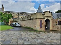 ST5545 : Wells Cathedral Entrance by V1ncenze