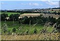 NZ1548 : View across the valley from the old railway by Robert Graham