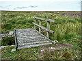 SE0329 : Footbridge over a conduit, Warley Moor by Humphrey Bolton