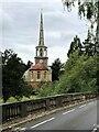 SU6089 : St Peter's from the Bridge by Bill Nicholls