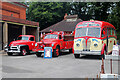 SJ8333 : Mill Meece Pumping Station - historic vehicles by Chris Allen